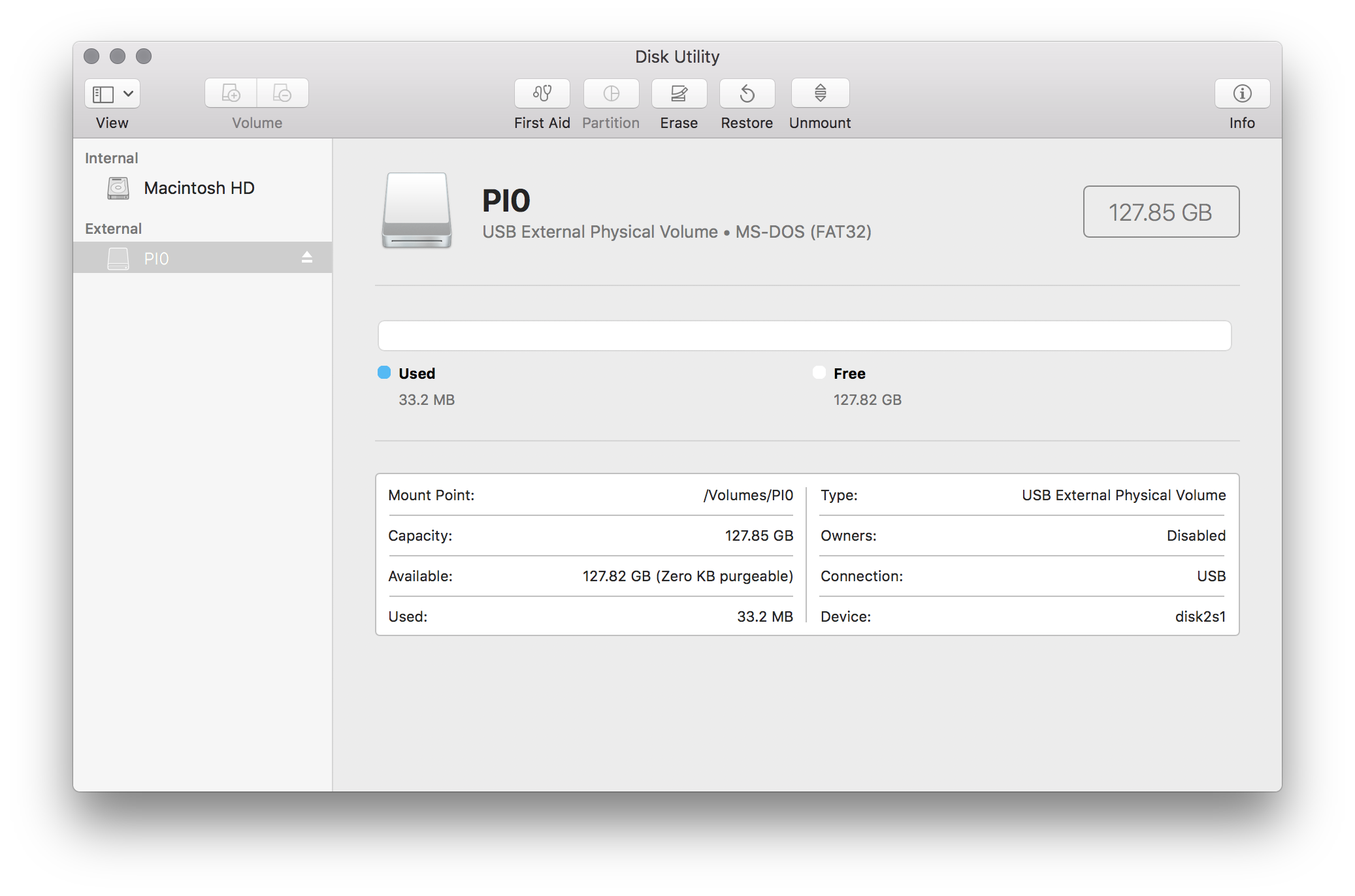 disk utility formating SD cards